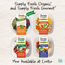 FiveStar Gourmet Foods Launches Two New Salad Lines at Costco | NOSH