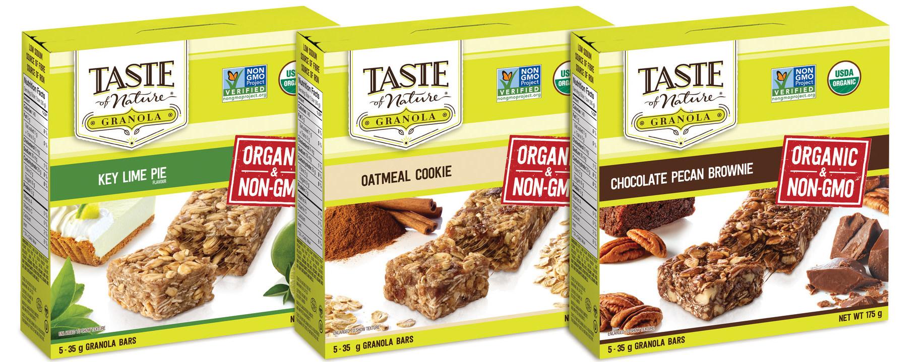 New Taste of Nature Granola