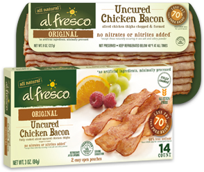 Al Fresco All Natural Adds Two New Bacon Products to Grocery