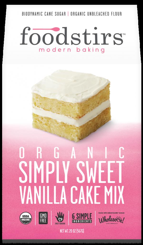 vanilla cake retail