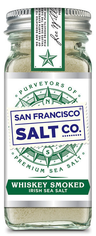 Whiskey Smoked Irish Sea Salt