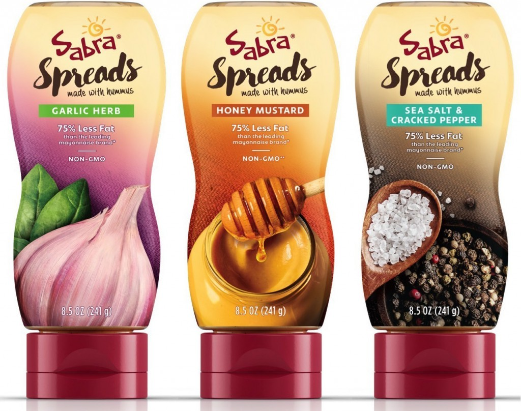 Sabra Launches Line of Sandwich Spreads