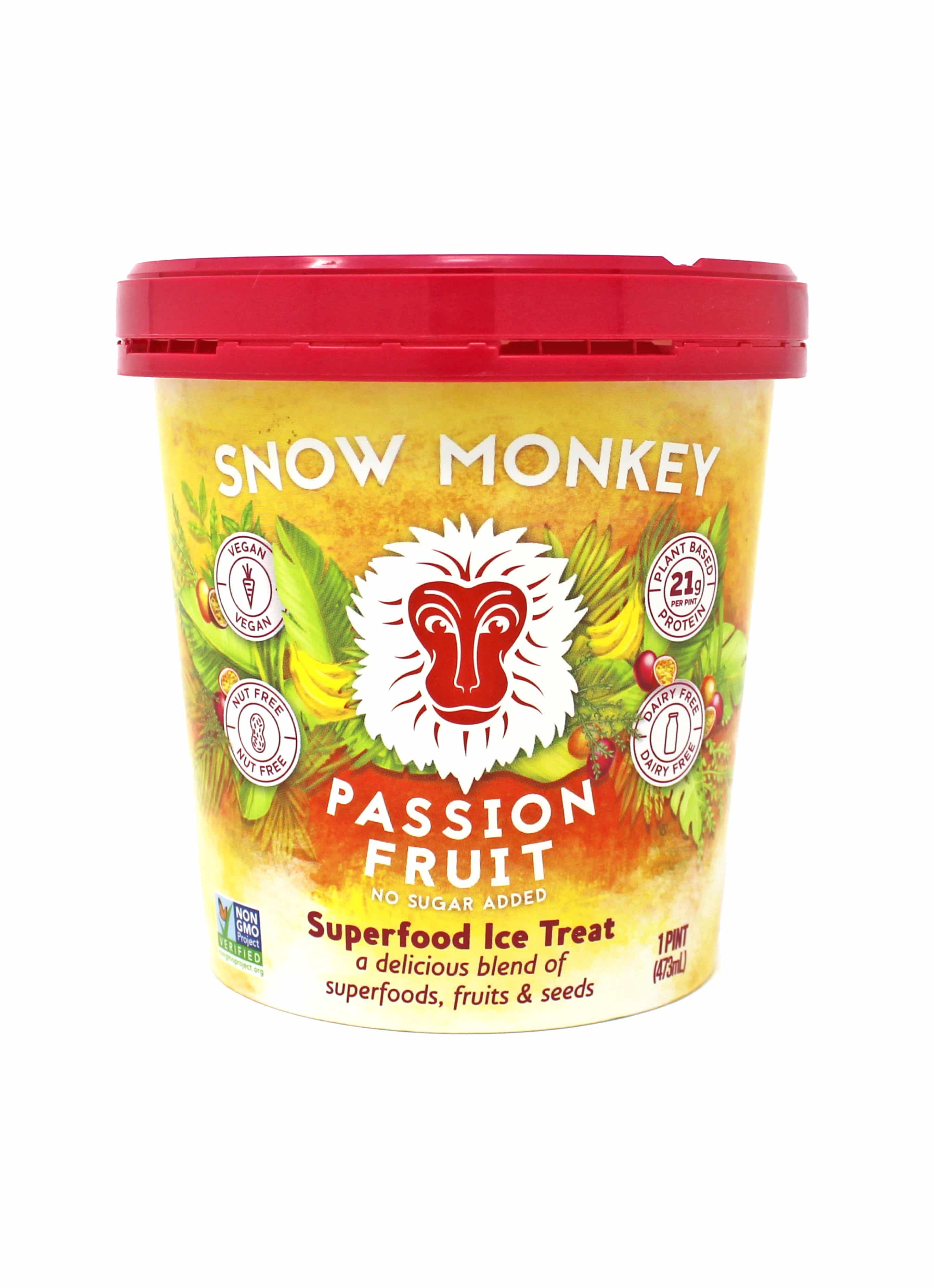 Snow Monkey Releases Three New Superfood Ice Treat Flavors