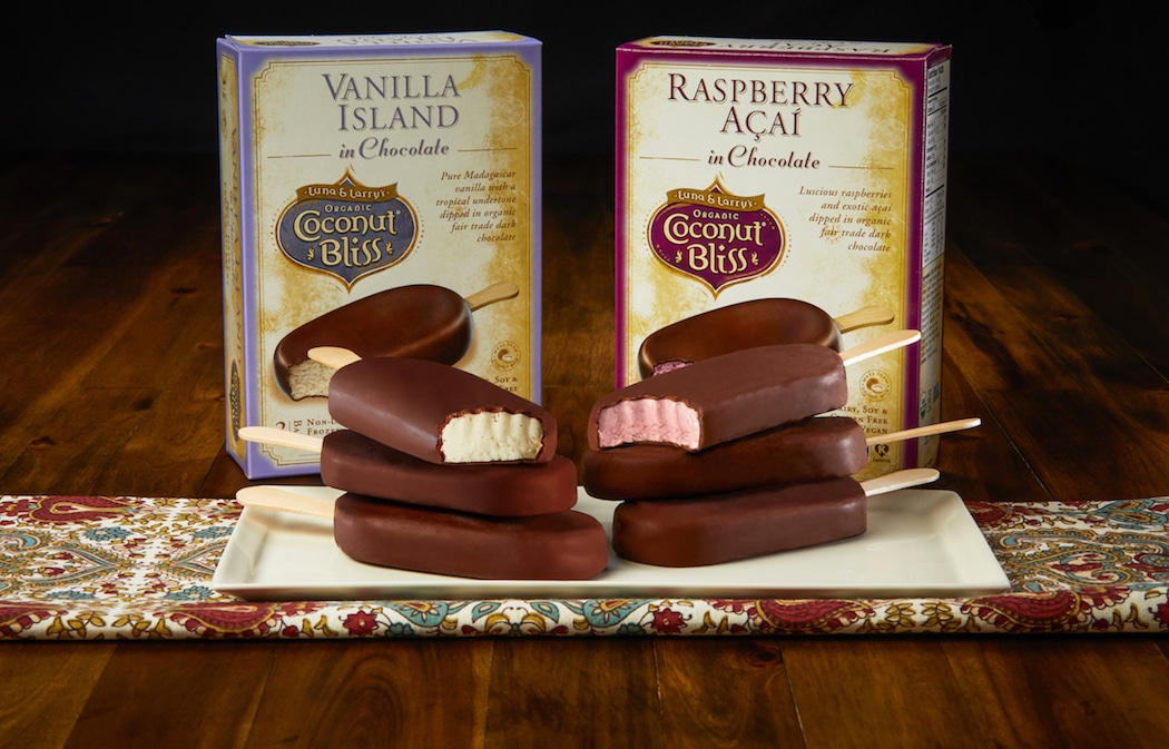 Coconut Bliss to Release Two New Frozen Chocolate Bars