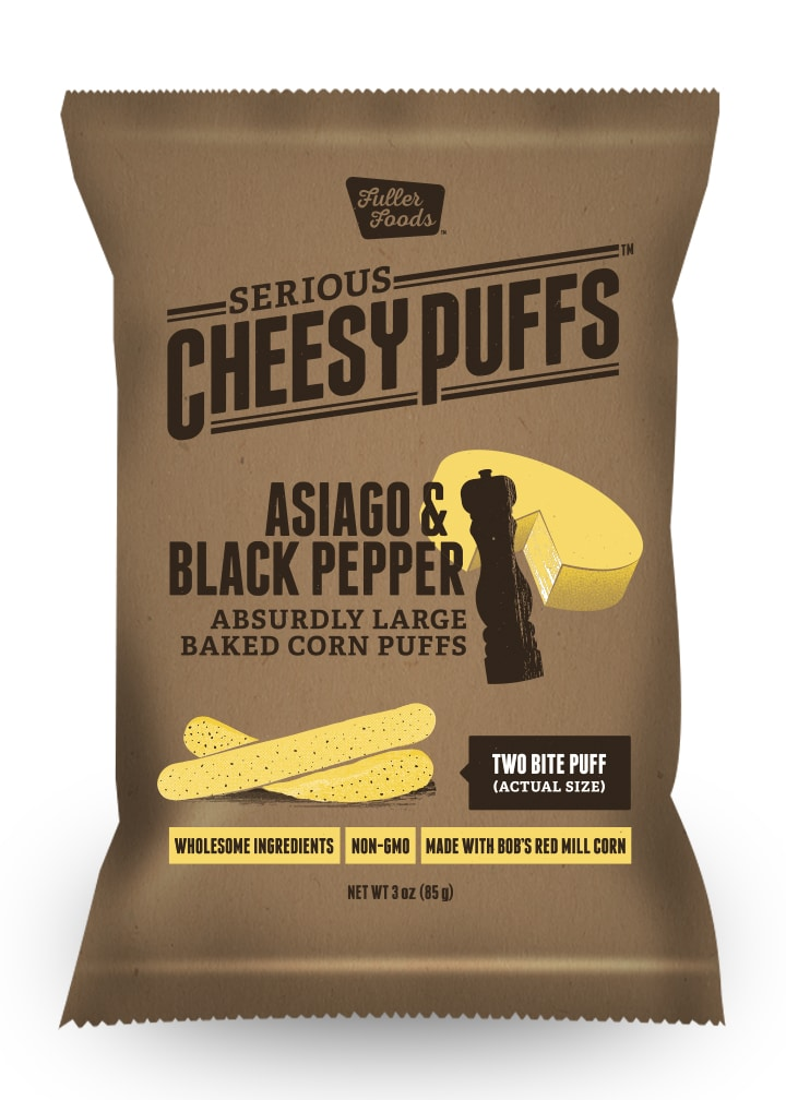 Fuller Foods Refreshes Serious Cheesy Puffs Line
