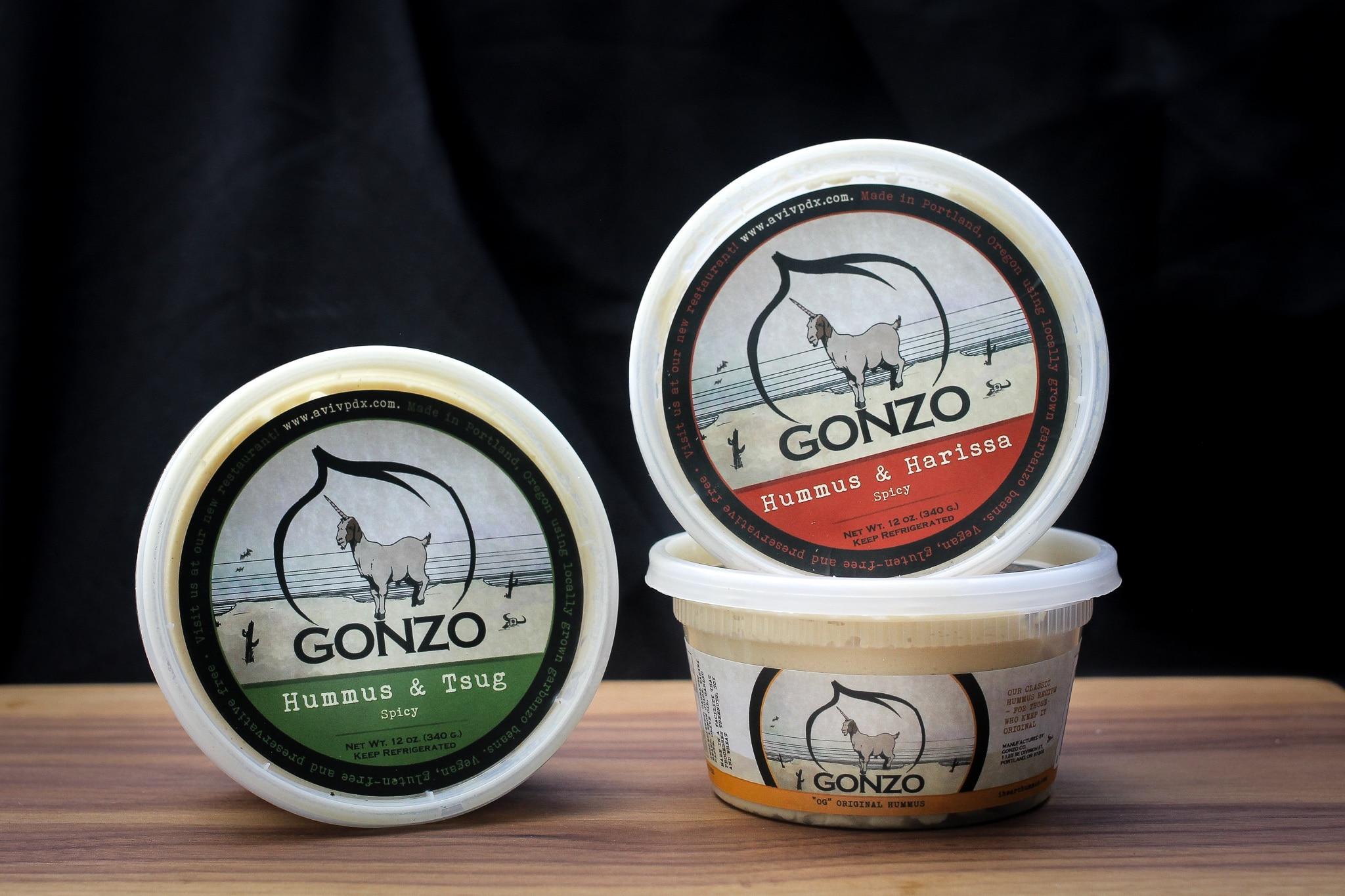 Gonzo Hummus Launches Hummus Line