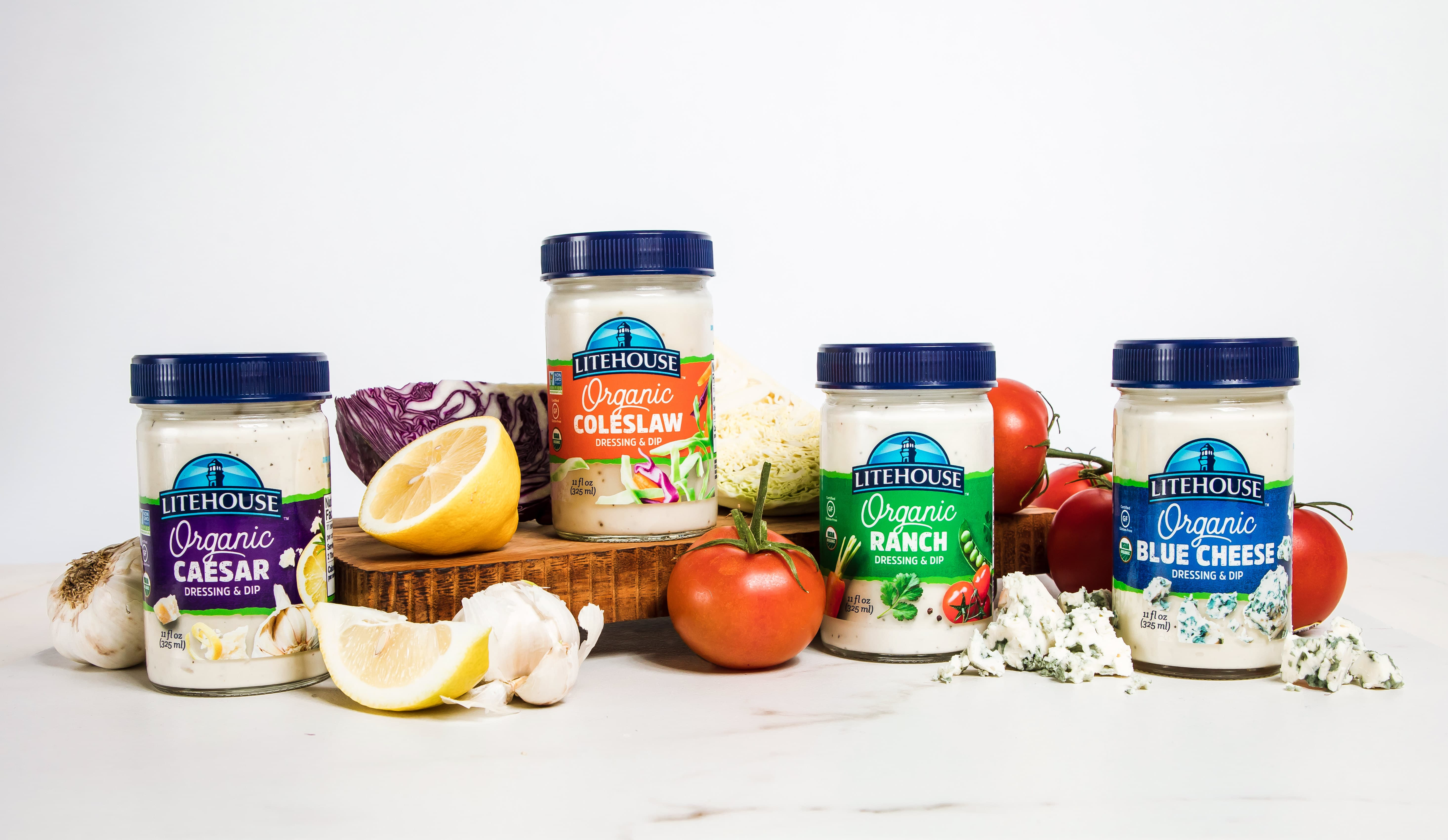 Litehouse Releases Organic Spoonable Dressing Line