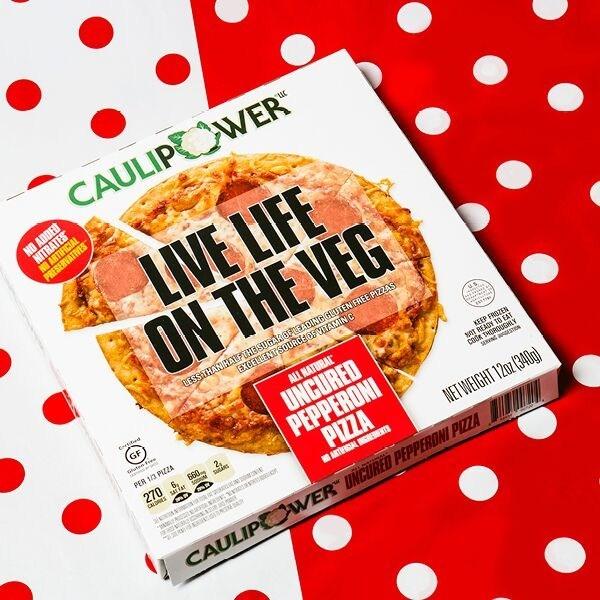 Caulipower Launches Uncured Pepperoni Pizza On Cauliflower Crust