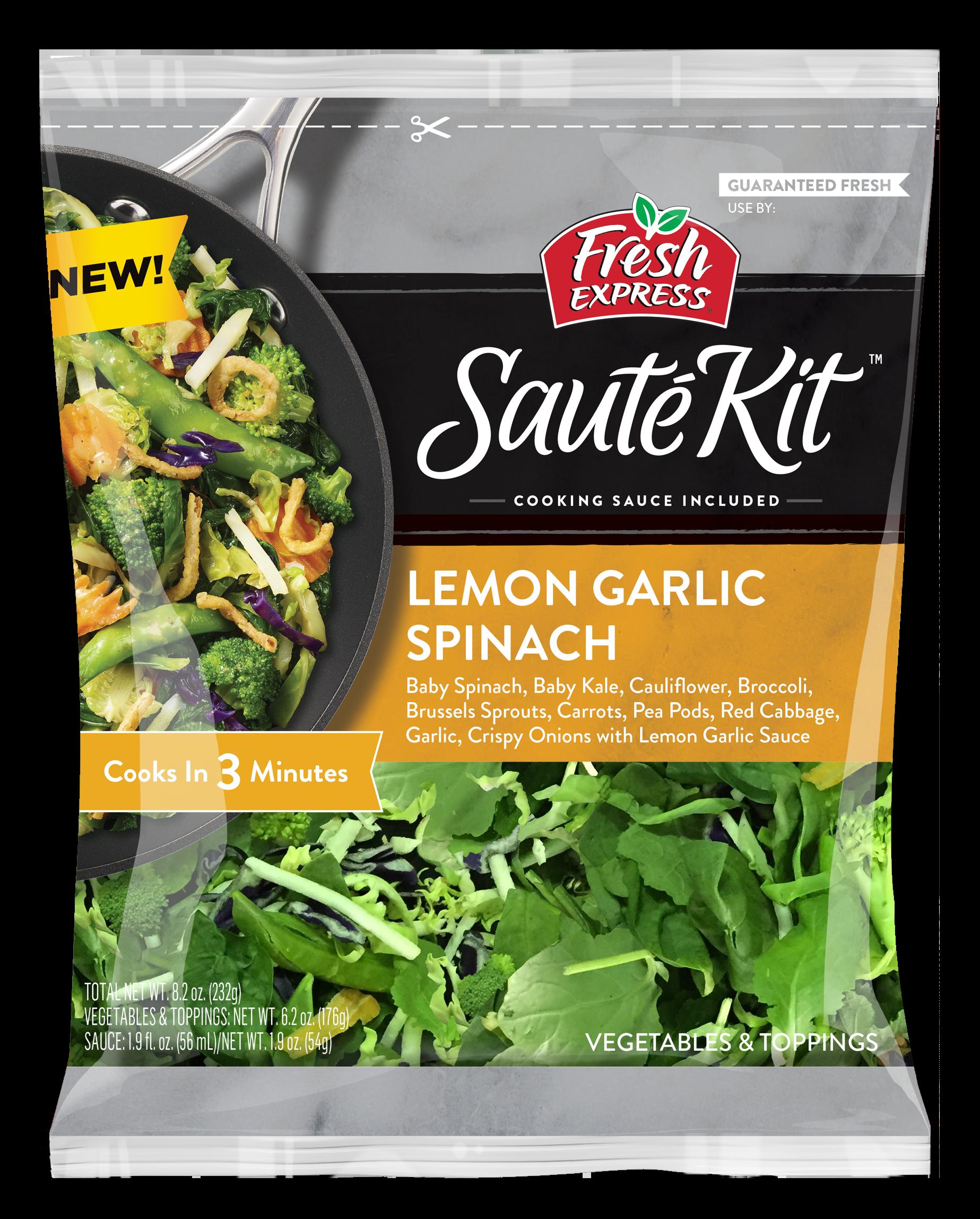 Fresh Express Launches Sauté Kits