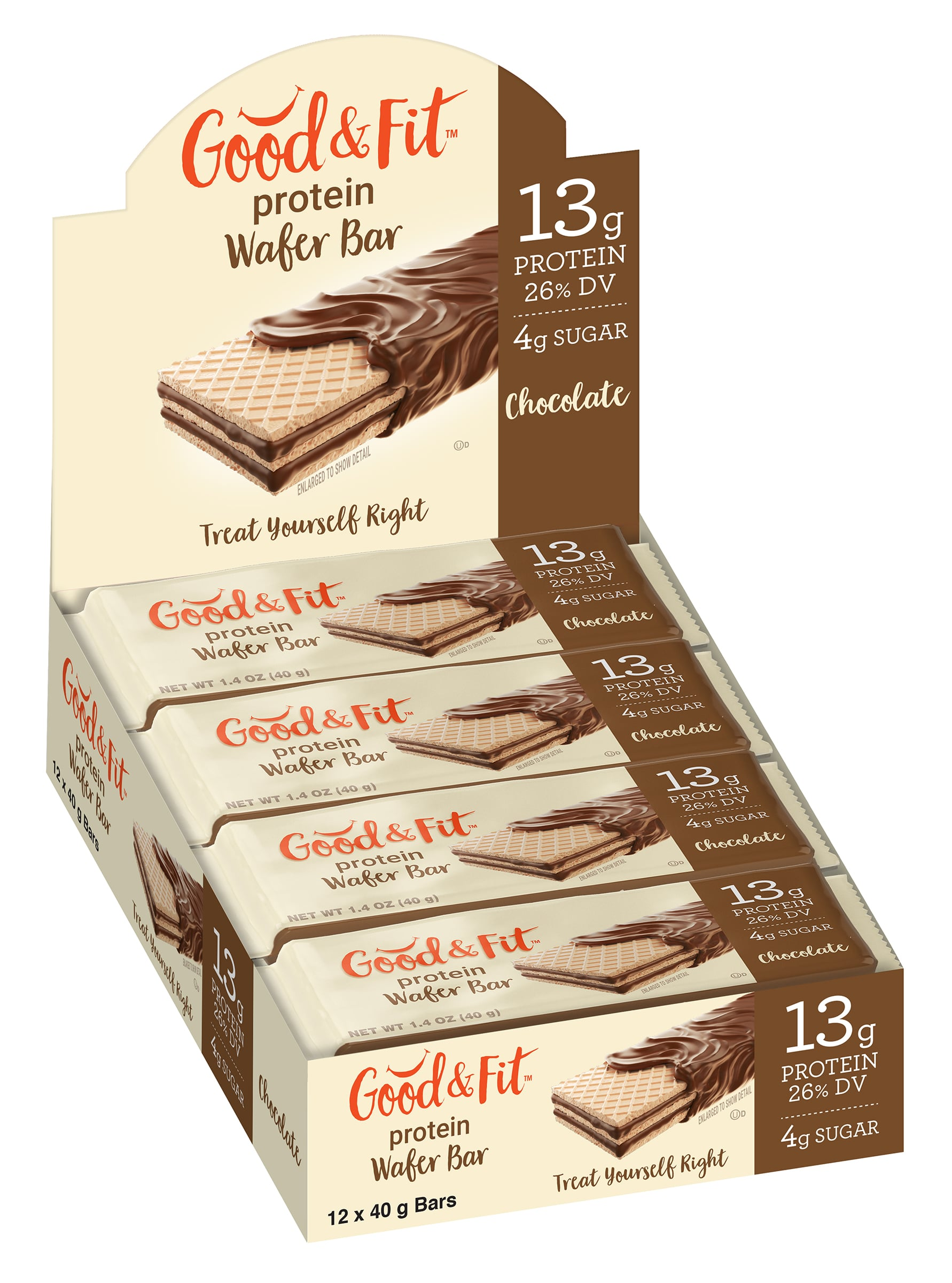Healthy Food Brands to Launch 'Good & Fit' Protein Wafer Bar