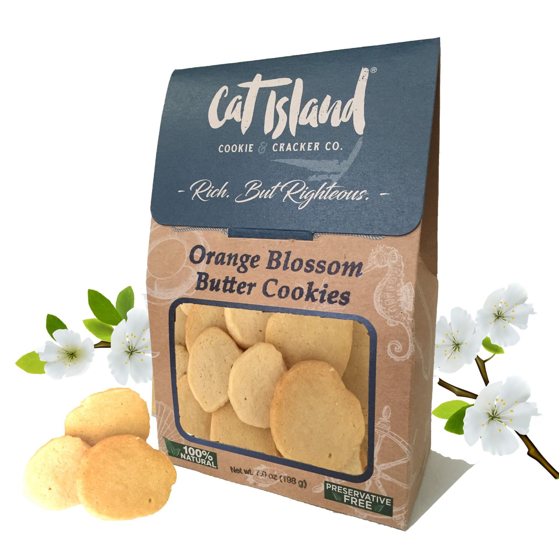 Cat Island Releases Orange Blossom Butter Cookies