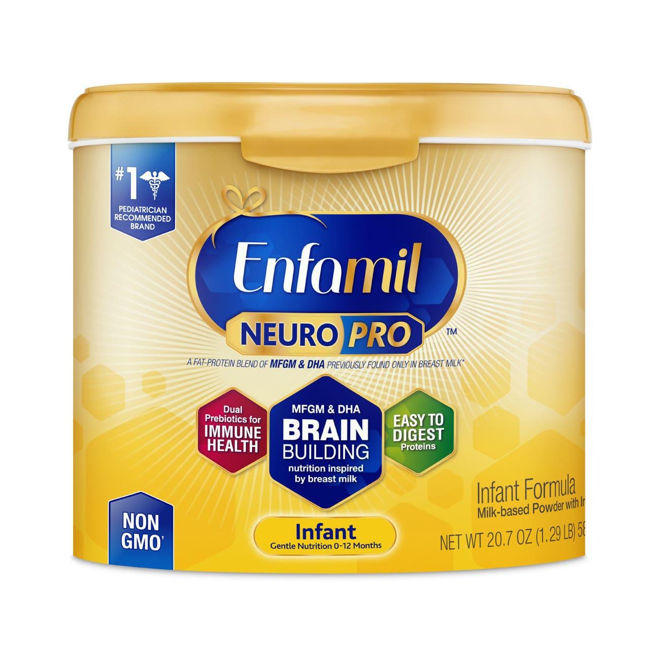 Enfamil Releases NeuroPro Infant Formula