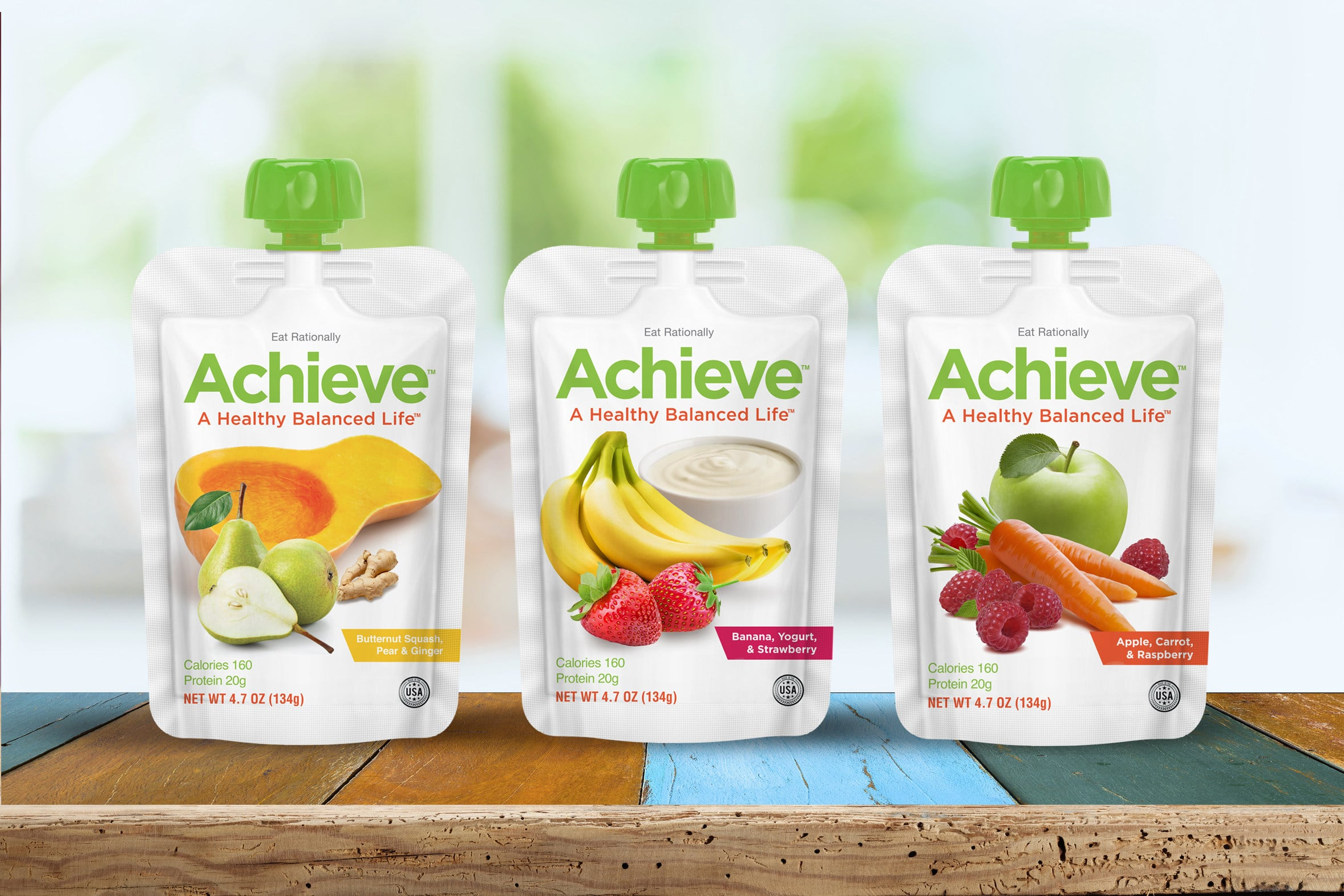 Rational Foods Launches Achieve Food Pouches