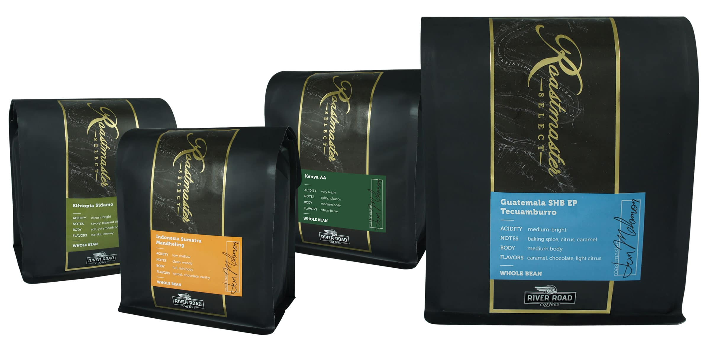 River Road Coffees Unveils Single-Origin Line of Coffees
