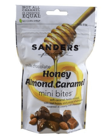 Sanders Releases Milk Chocolate Honey Almond Caramels