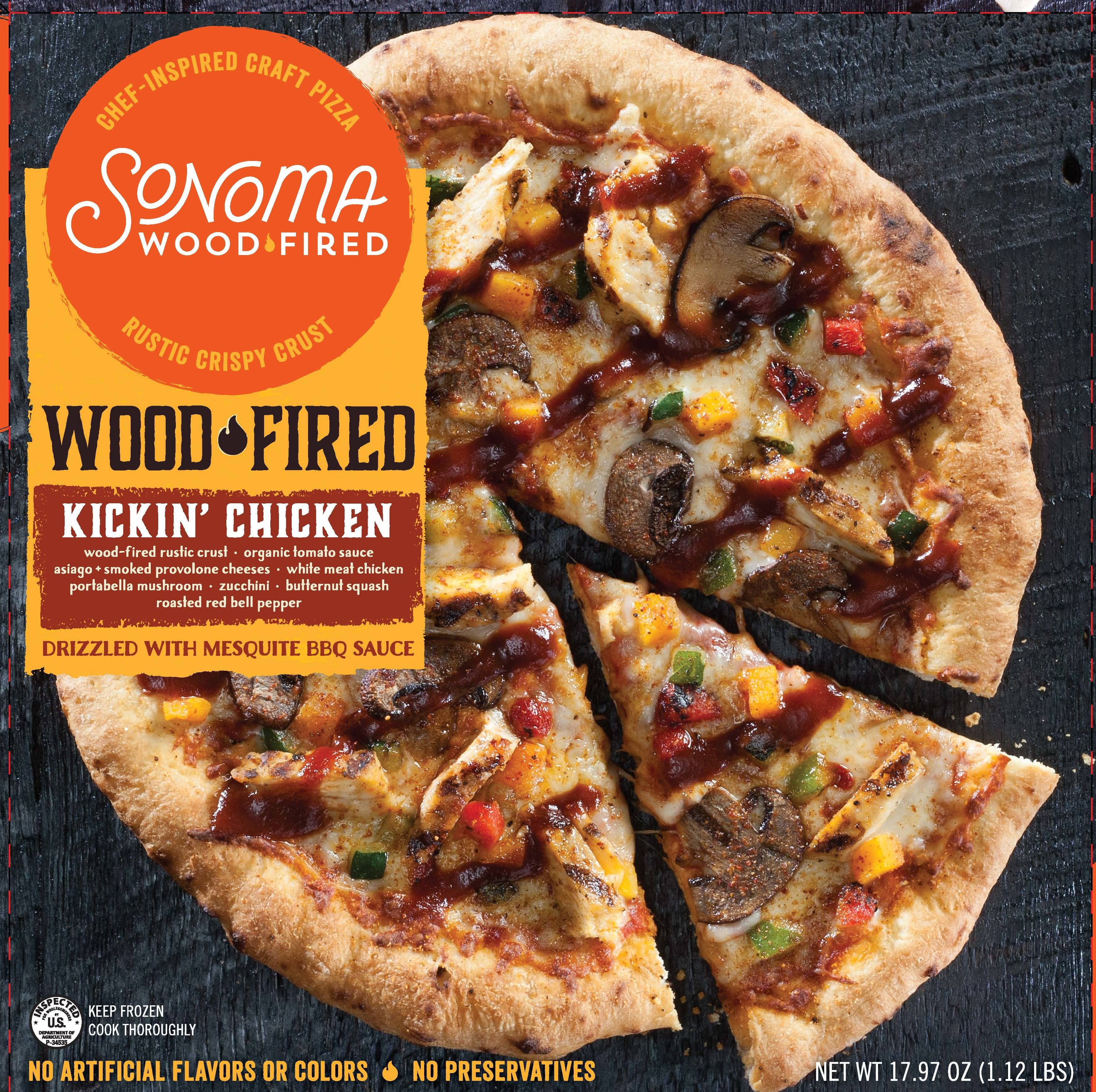 Sonoma Woodfired Launches Pizza Line