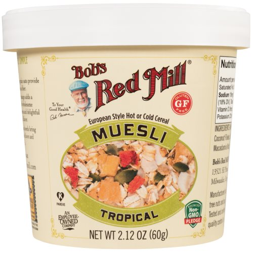 Bob's Red Mill Launches Muesli Cups