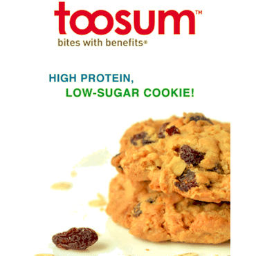 Toosum to Launch Protein Cookie Line