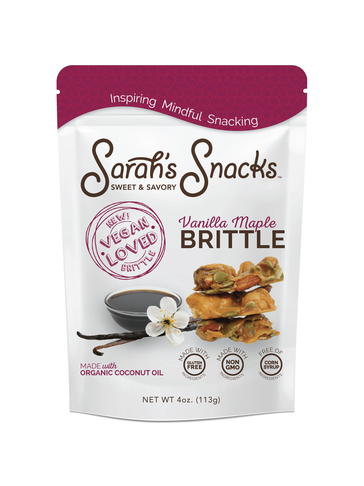 Sarah's Snacks to Launch Vegan Brittle at Fancy Food Show
