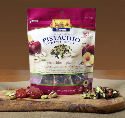 Setton Farms Adds Pistachio + Plum Variety to Pistachio Chewy Bite Line