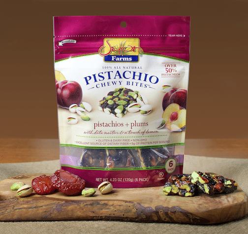 Setton Farms Adds Pistachio + Plum Variety to Pistachio Chewy Bite Line