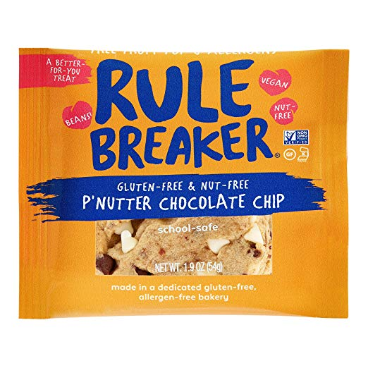 Rule Breaker Snacks Launches Nut-Free P'Nutter Chocolate Chip Treats
