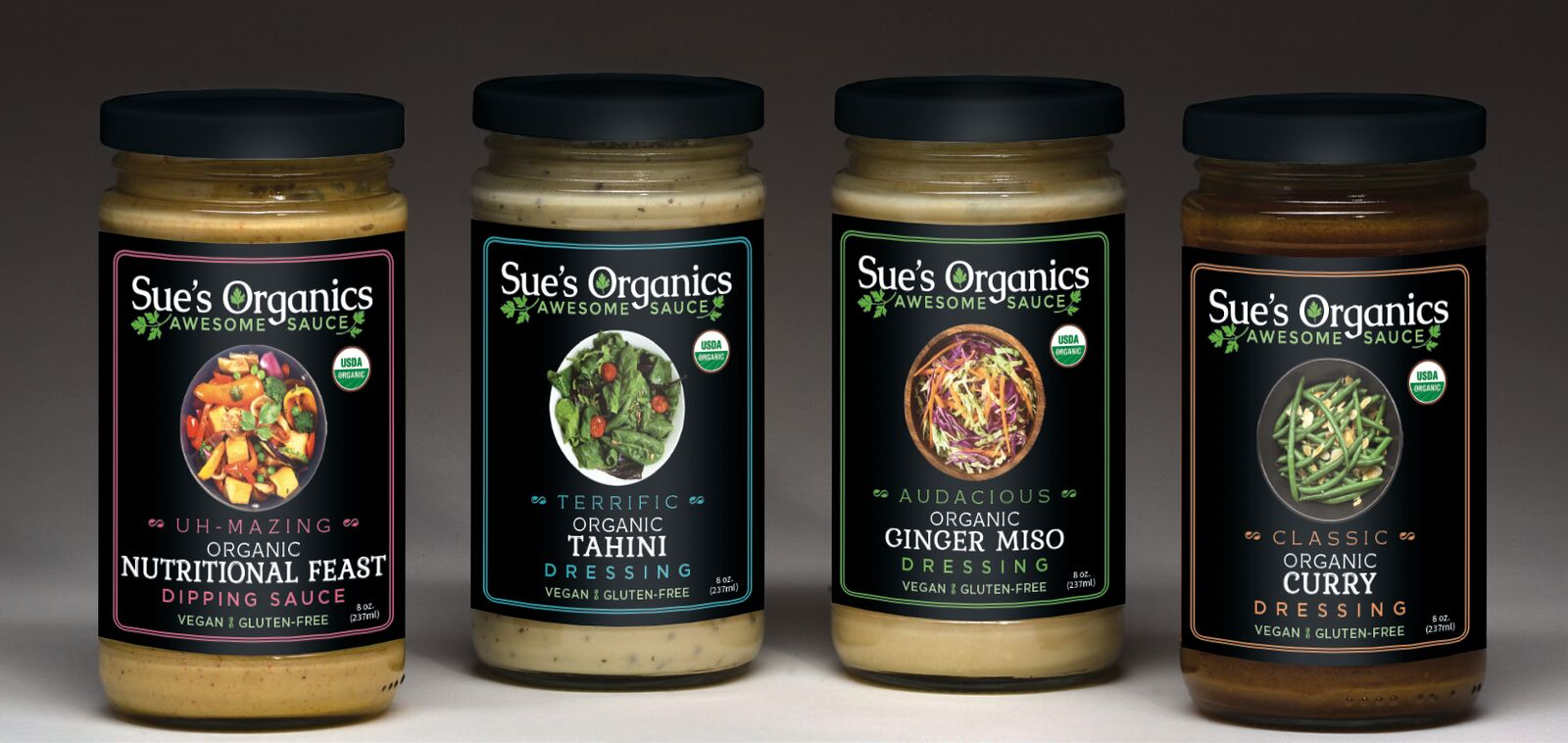 Sue's Organics to Debut 'Awesome Sauce' Line at Fancy Food Show