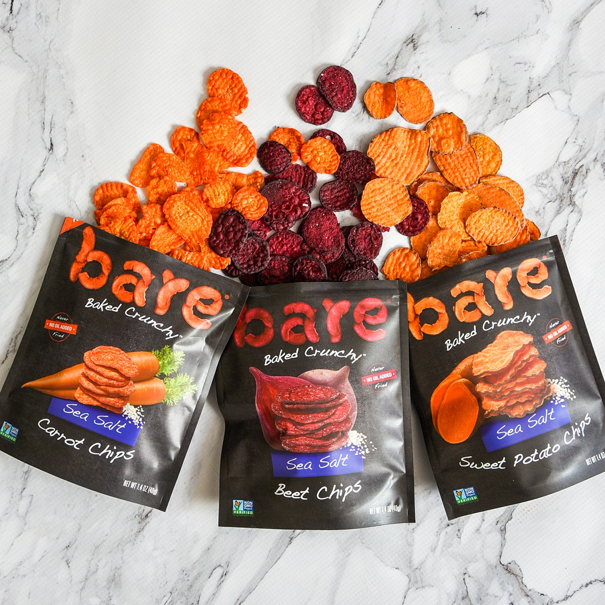 Bare Snacks Launches Baked Crunchy Veggie Chips