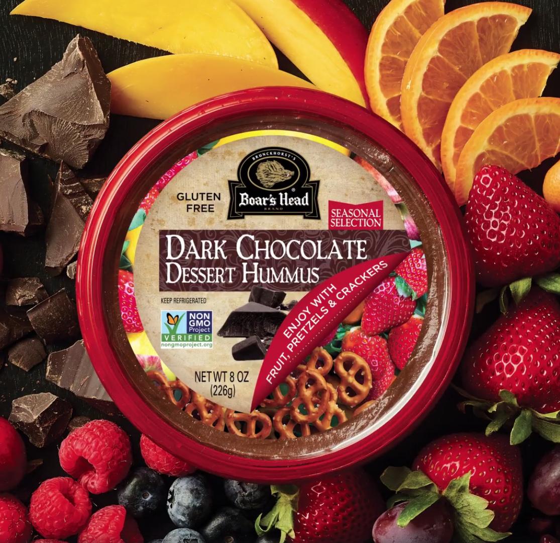 Boar's Head Brand Releases Dark Chocolate Dessert Hummus