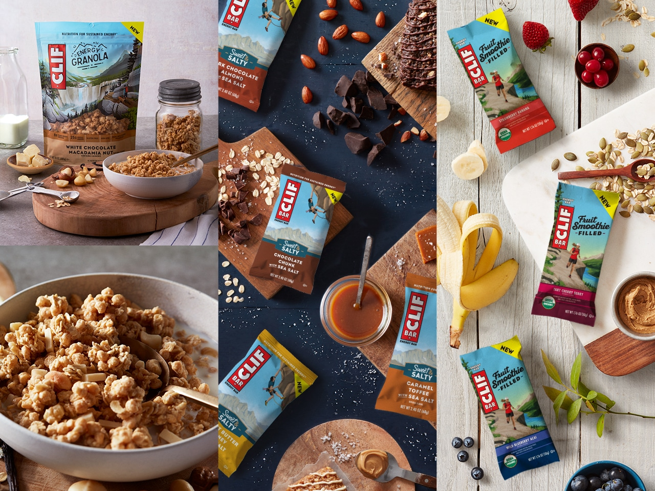 Clif Bar & Company Releases 3 New Products