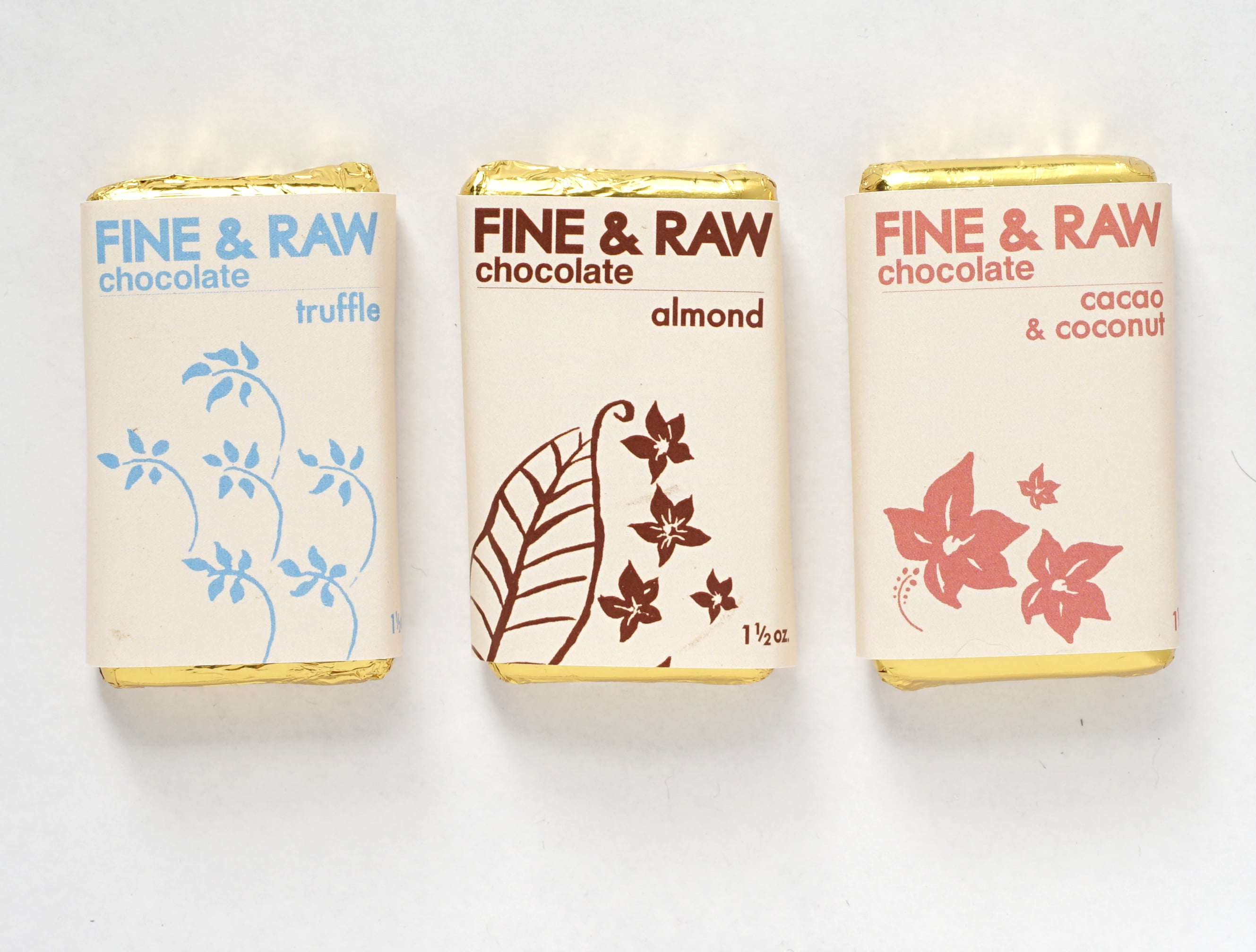 Fine & Raw Chocolate Launches Redesigned Signature Line and New Bars