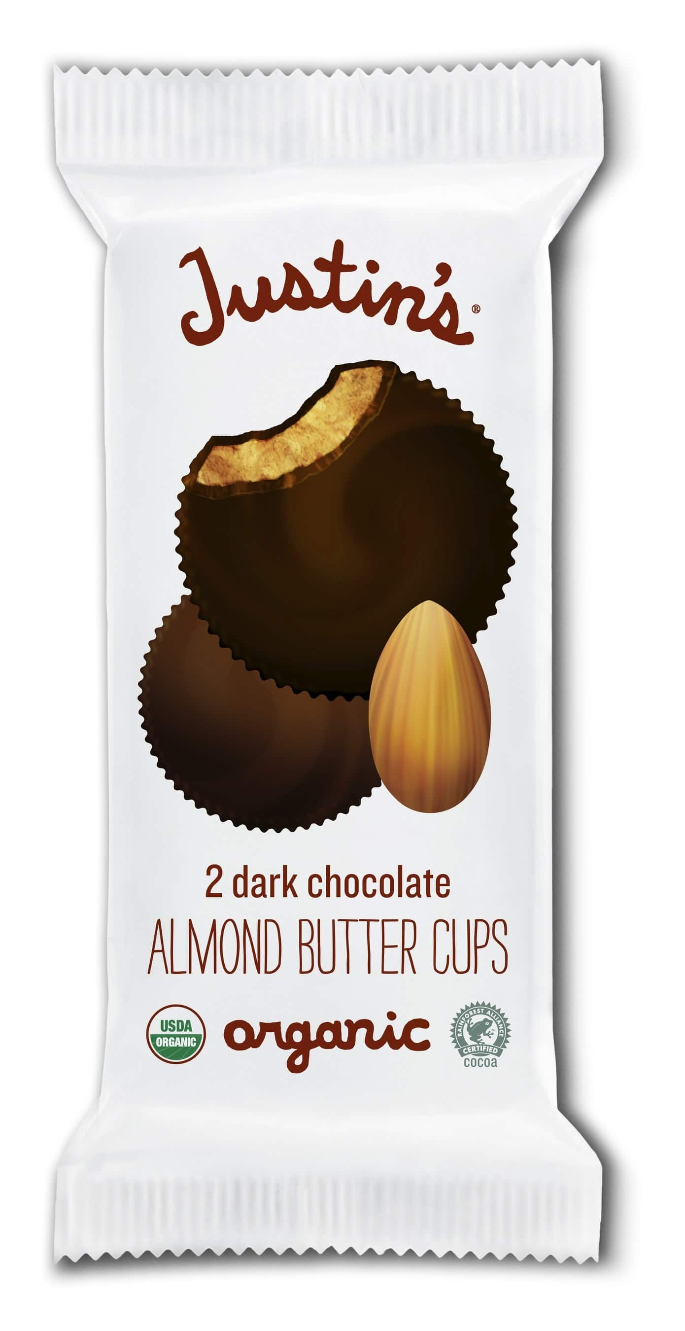 Justin's Releases Almond and Cashew Butter Cups