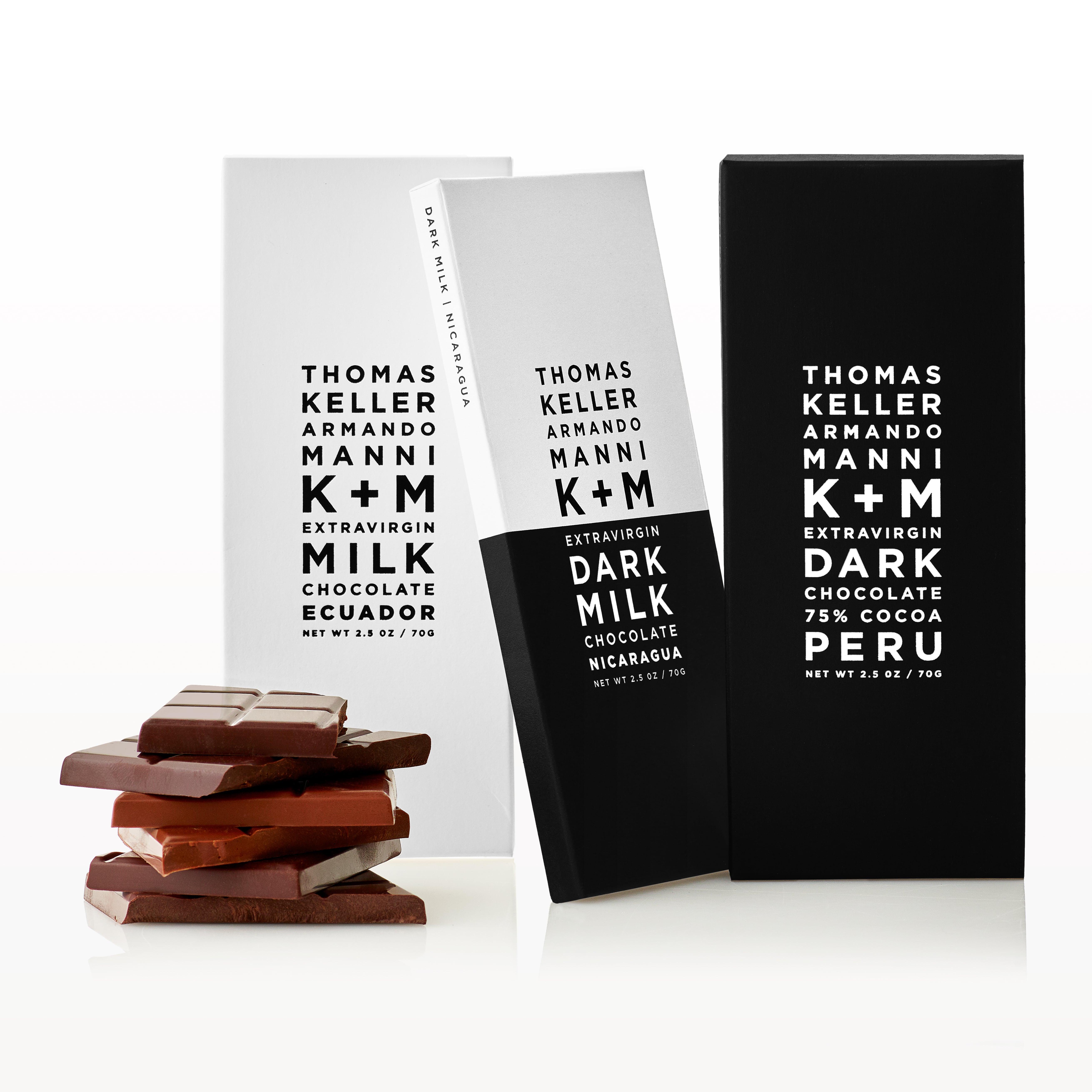 K+M Extravirgin 75% Dark Chocolate Ecuador Wins sofi Award