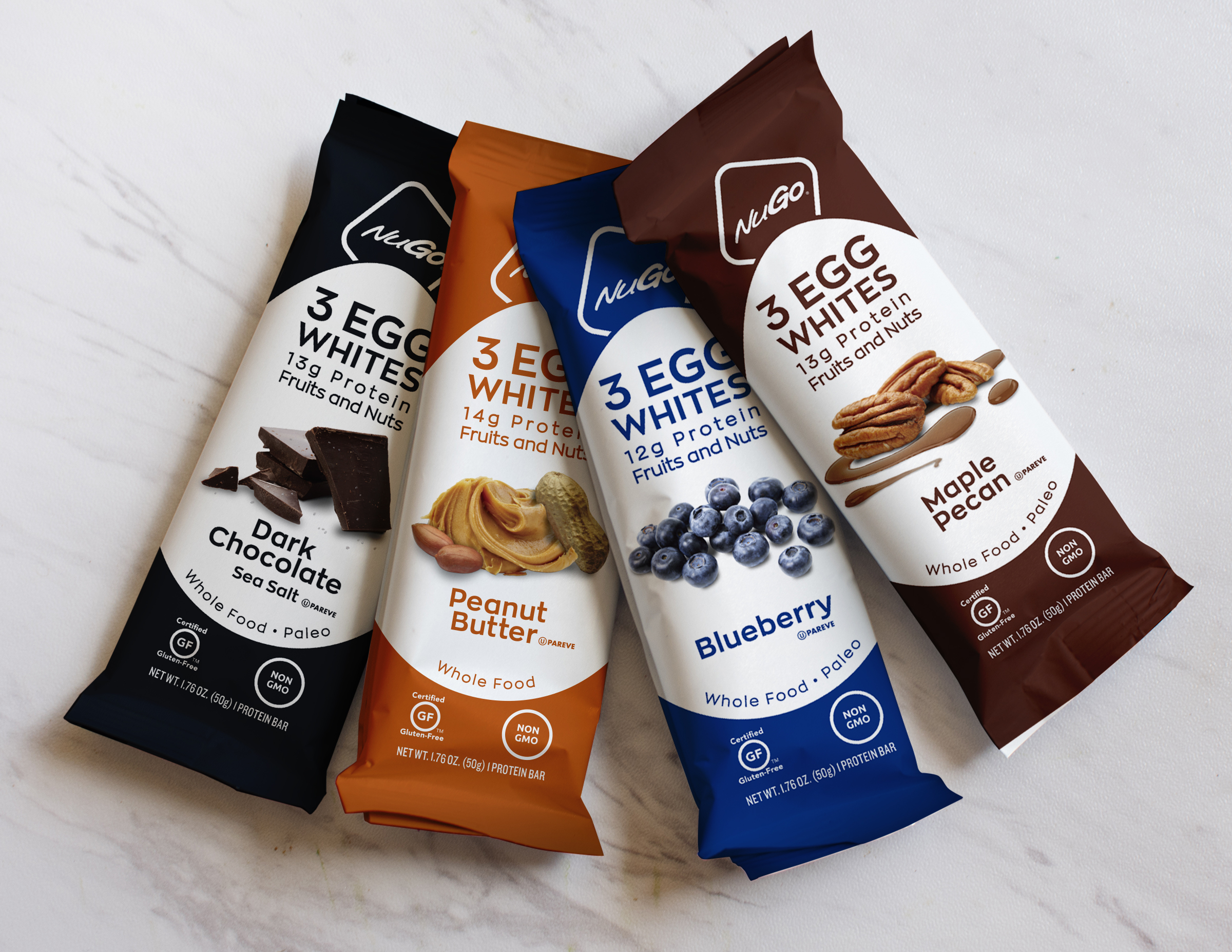 NuGo Nutrition Launches Egg White Protein Bars