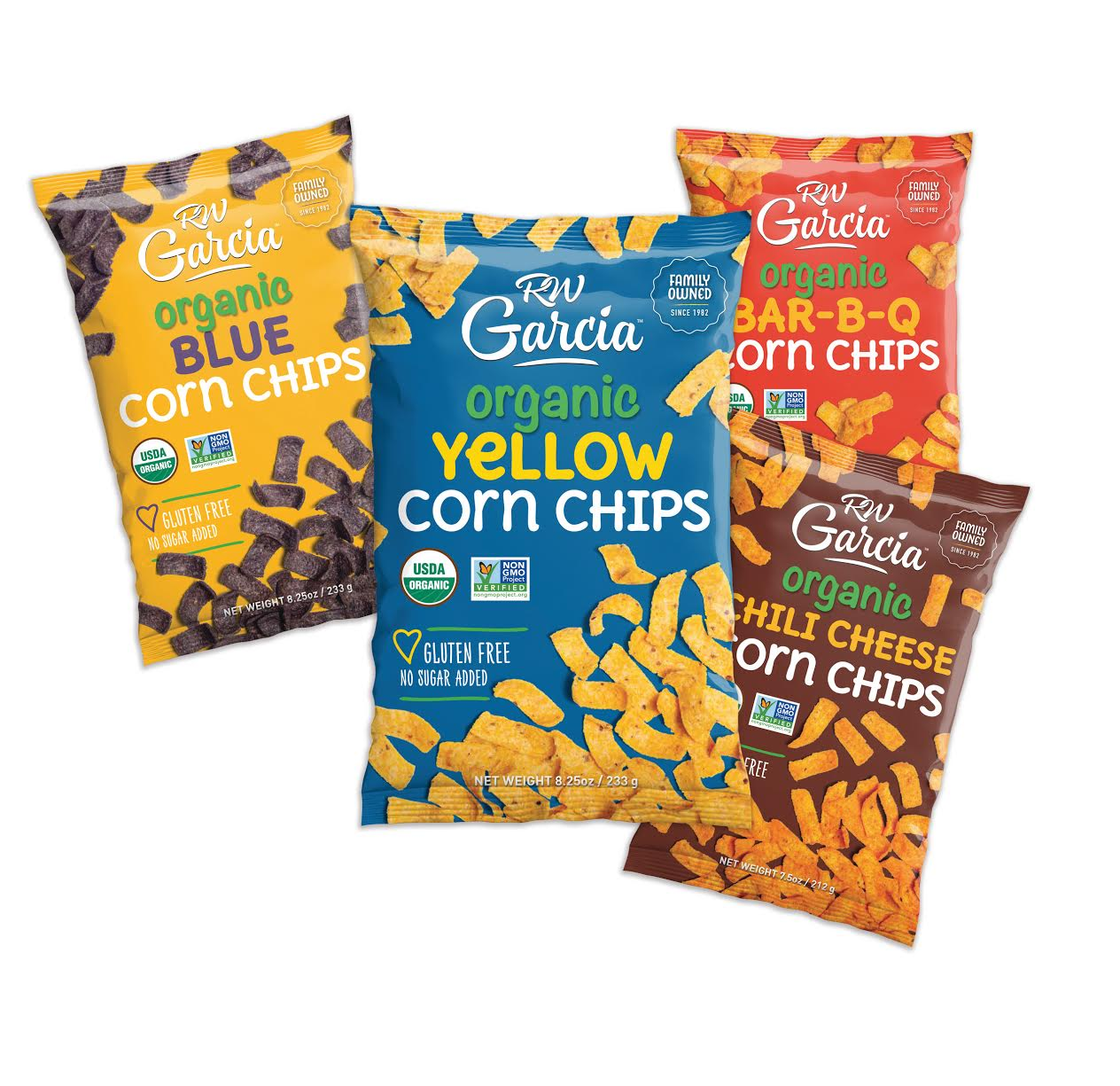 RW Garcia Launches Organic Corn Chips Line