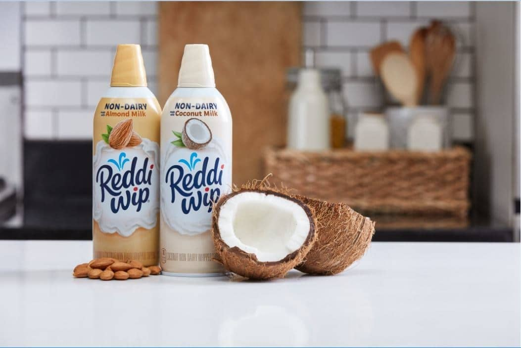 Reddi-wip Launches Non-Dairy Almond and Coconut Varieties