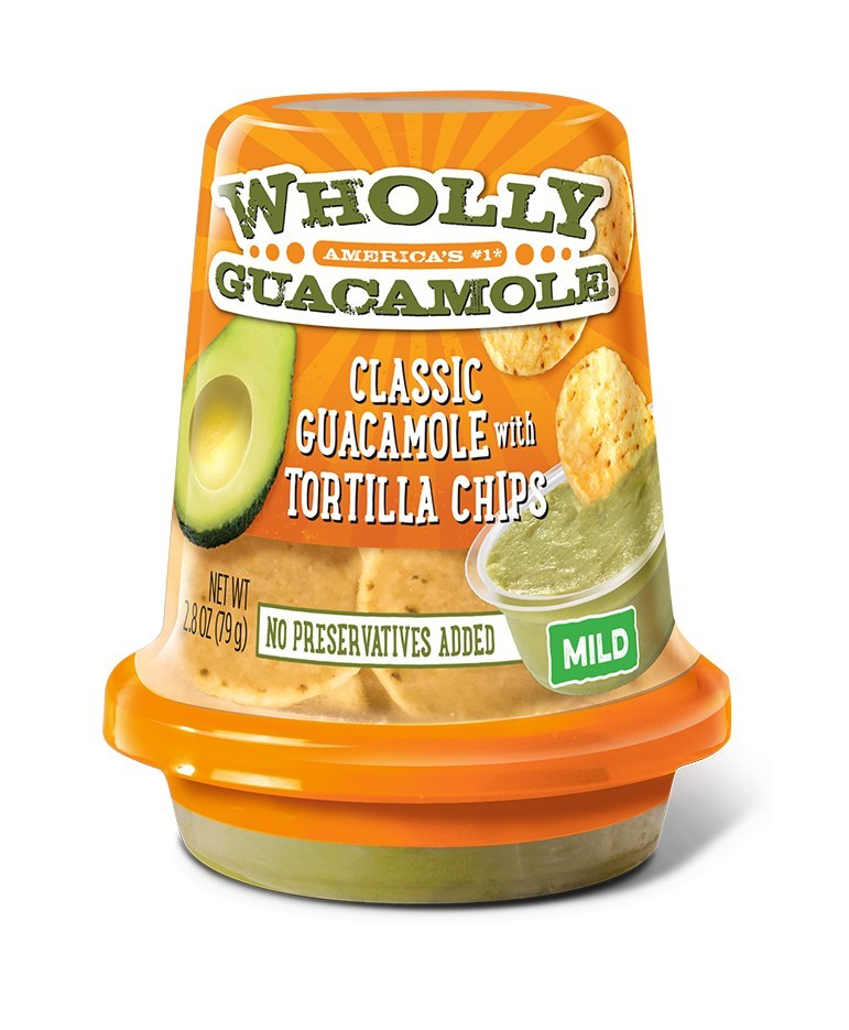Wholly Guacamole Launches Snack Cups