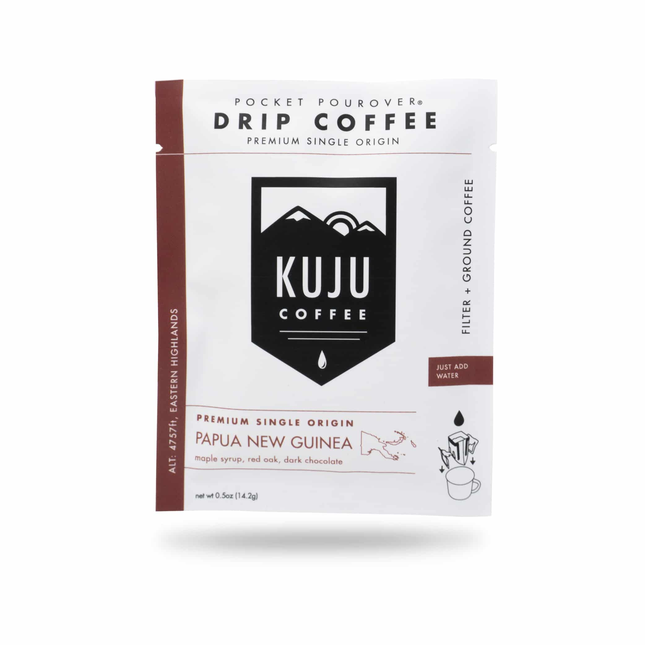 Kuju Coffee Launches Single Origin Pocket PourOvers