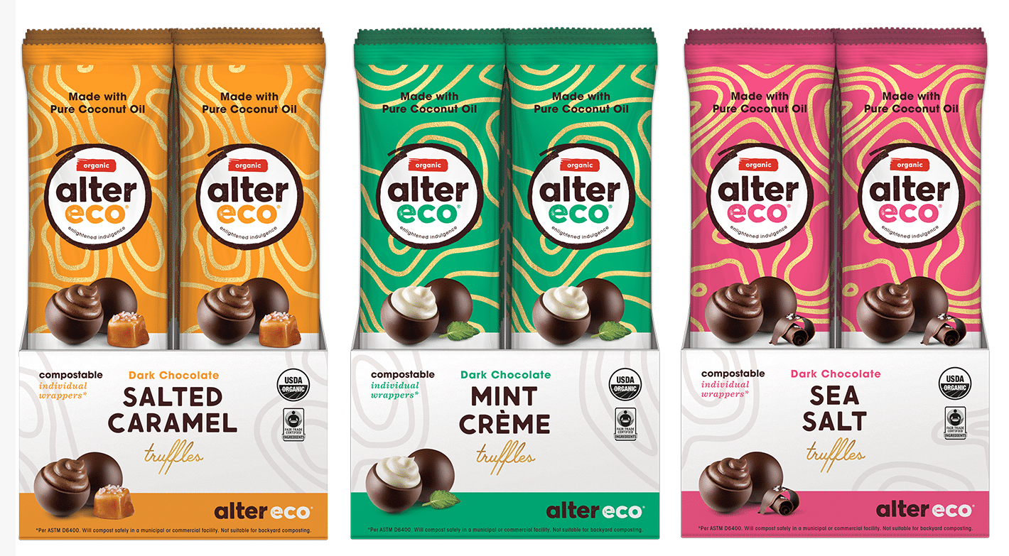 Alter Eco Debuts Truffle 3-Packs