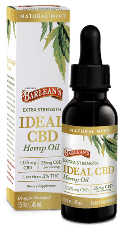 Barlean's Launches CBD Hemp Oil