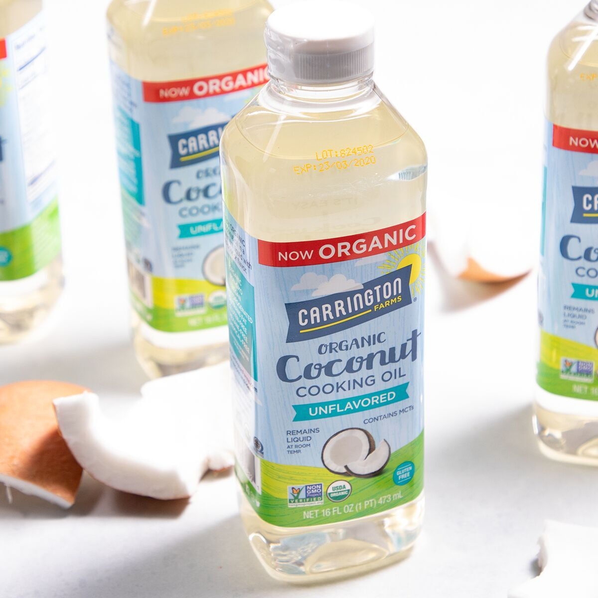 Carrington Farms Introduces Organic Liquid Coconut Oil