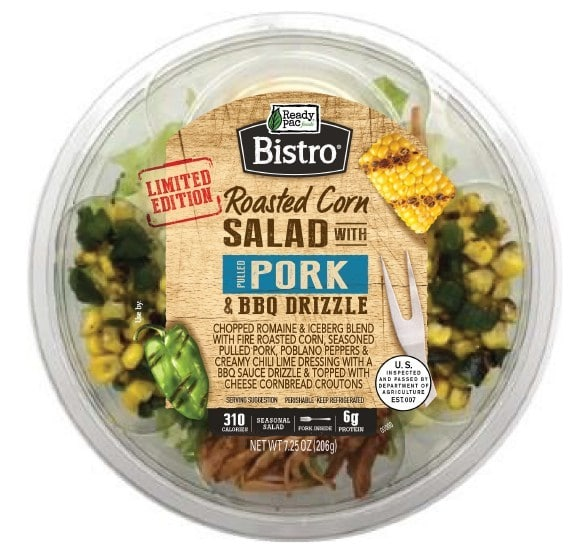 Ready Pac Foods Releases Bistro Roasted Corn Salad with Pulled Pork and BBQ Drizzle