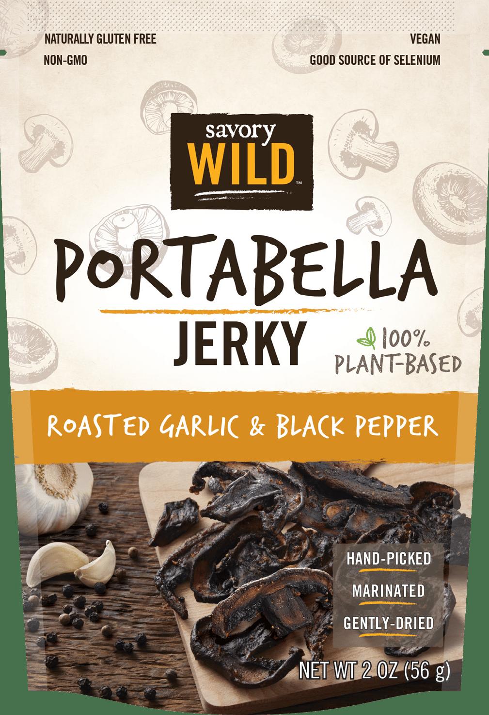 Giorgio Foods Launches Savory Wild Portabella Mushroom Jerky