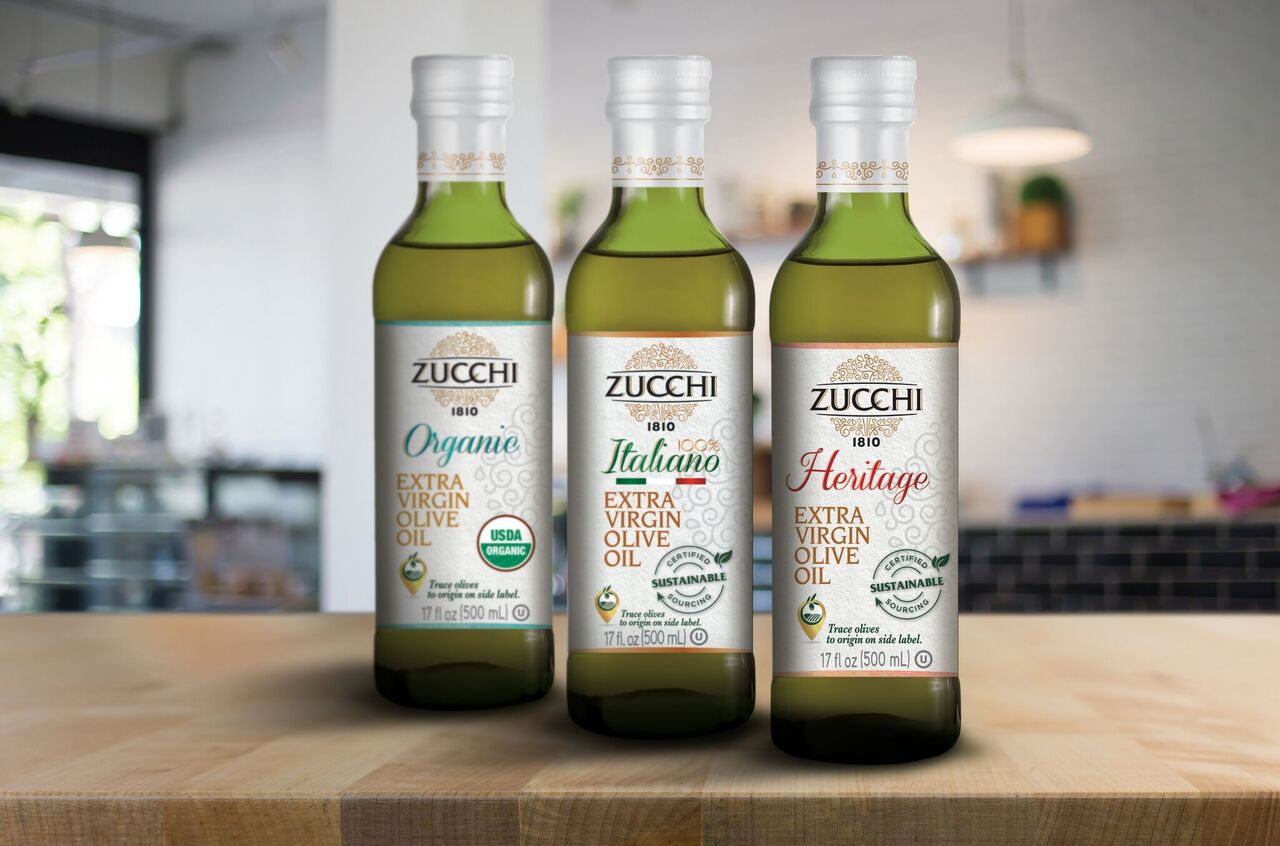 Zucchi Releases 2 New Extra Virgin Olive Oils
