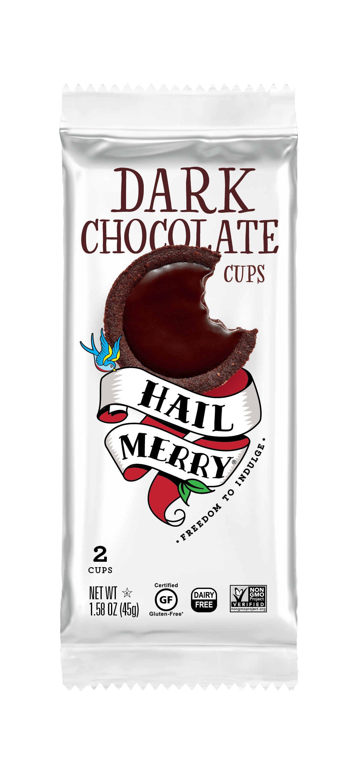 Hail Merry to Introduce Dark Chocolate and Sweet Potato Cups at Expo East
