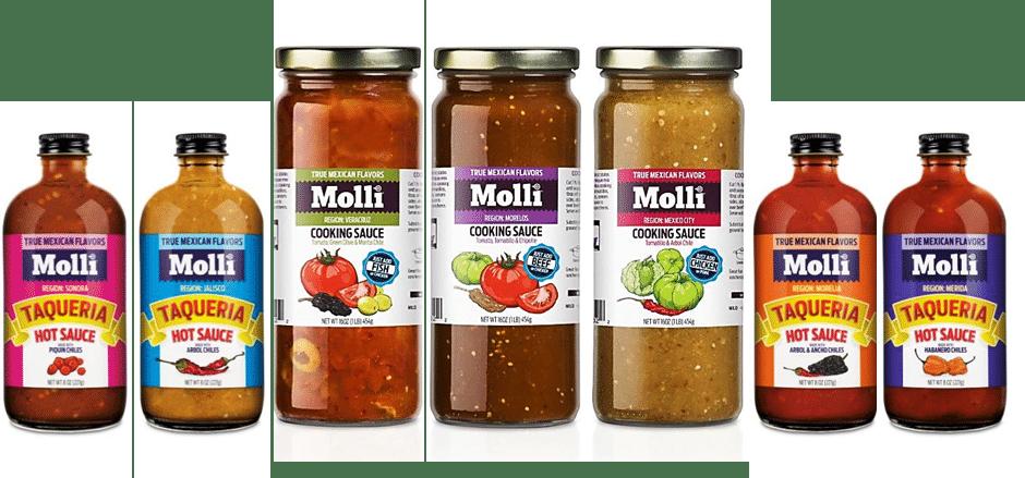 Molli Mexican Sauces Expands Distribution