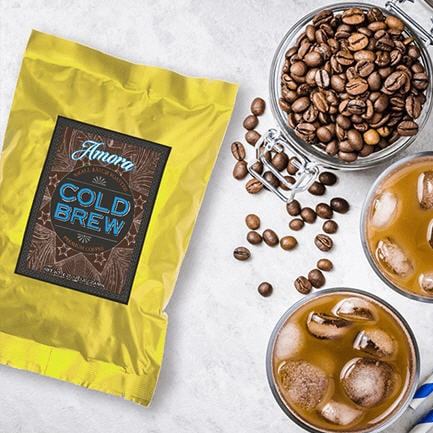 Amora Adds Cold Brew to Coffee Lineup