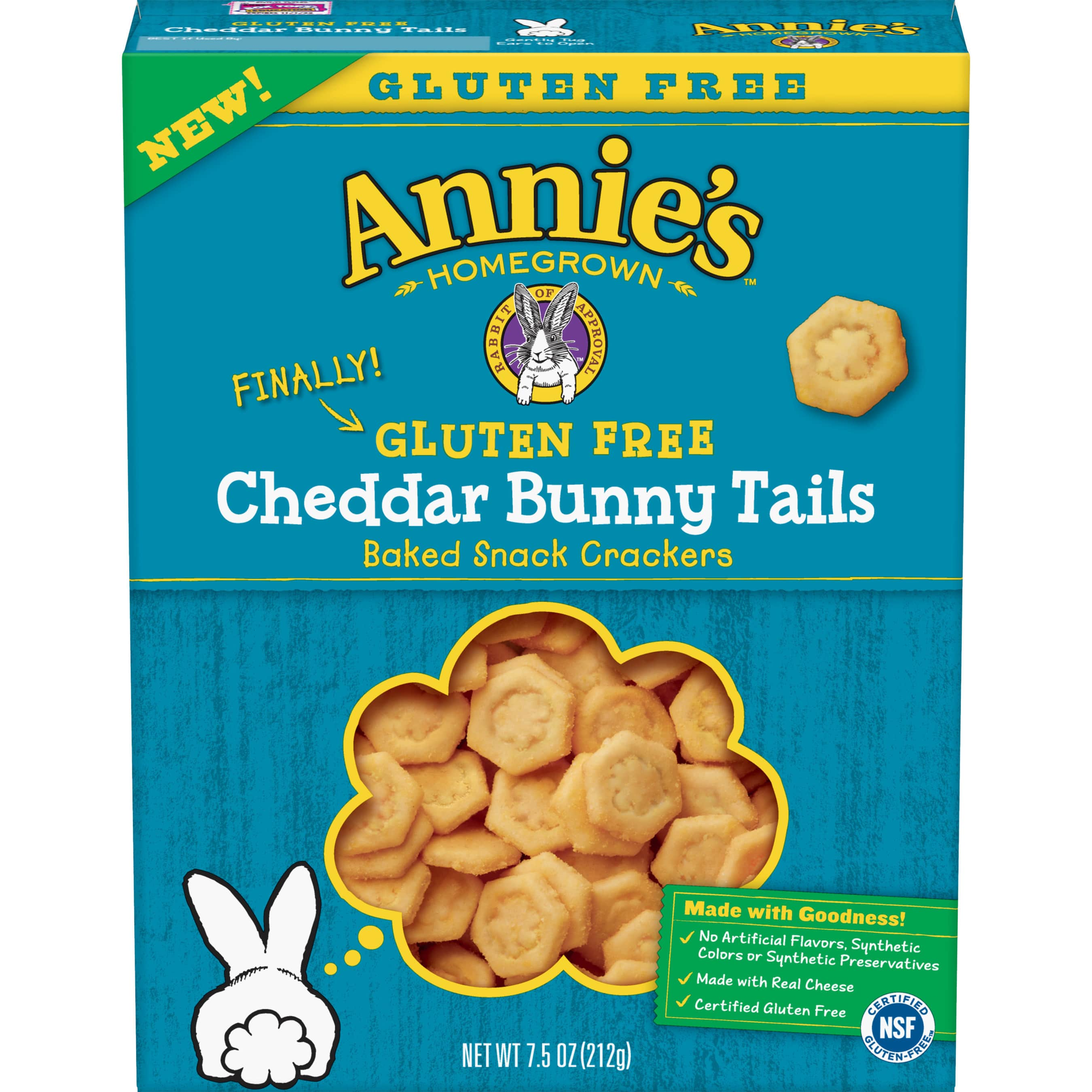 Annie's Launches Gluten Free Cheddar Bunny Tails