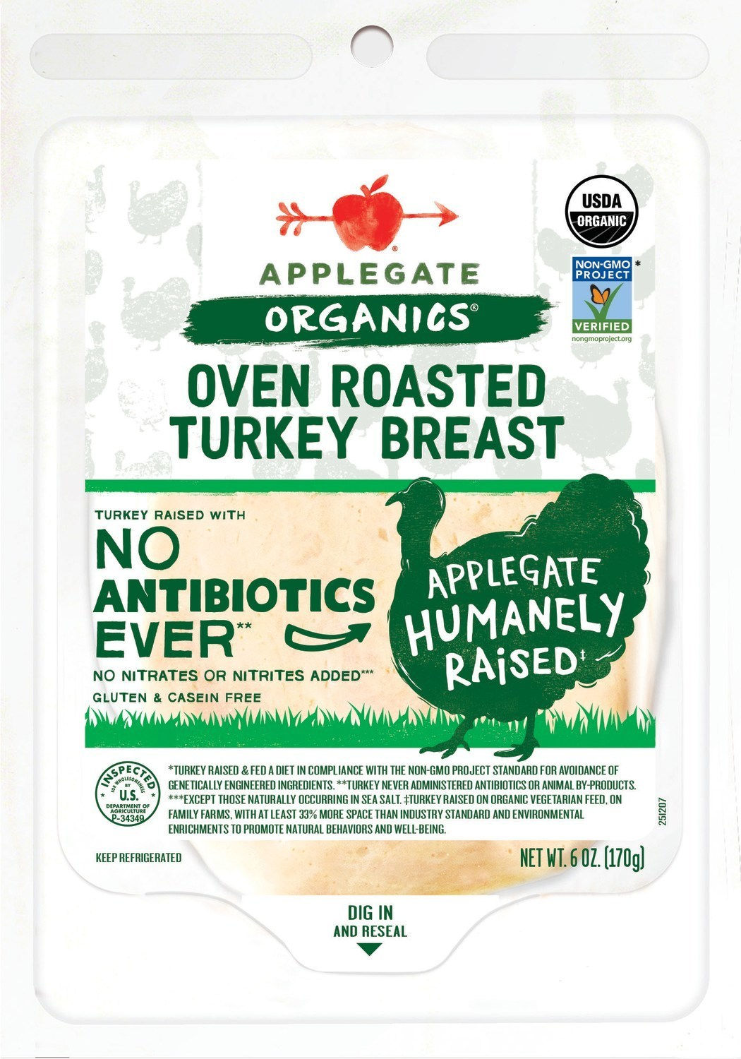 Applegate Updates Deli Meat Ingredients and Packaging