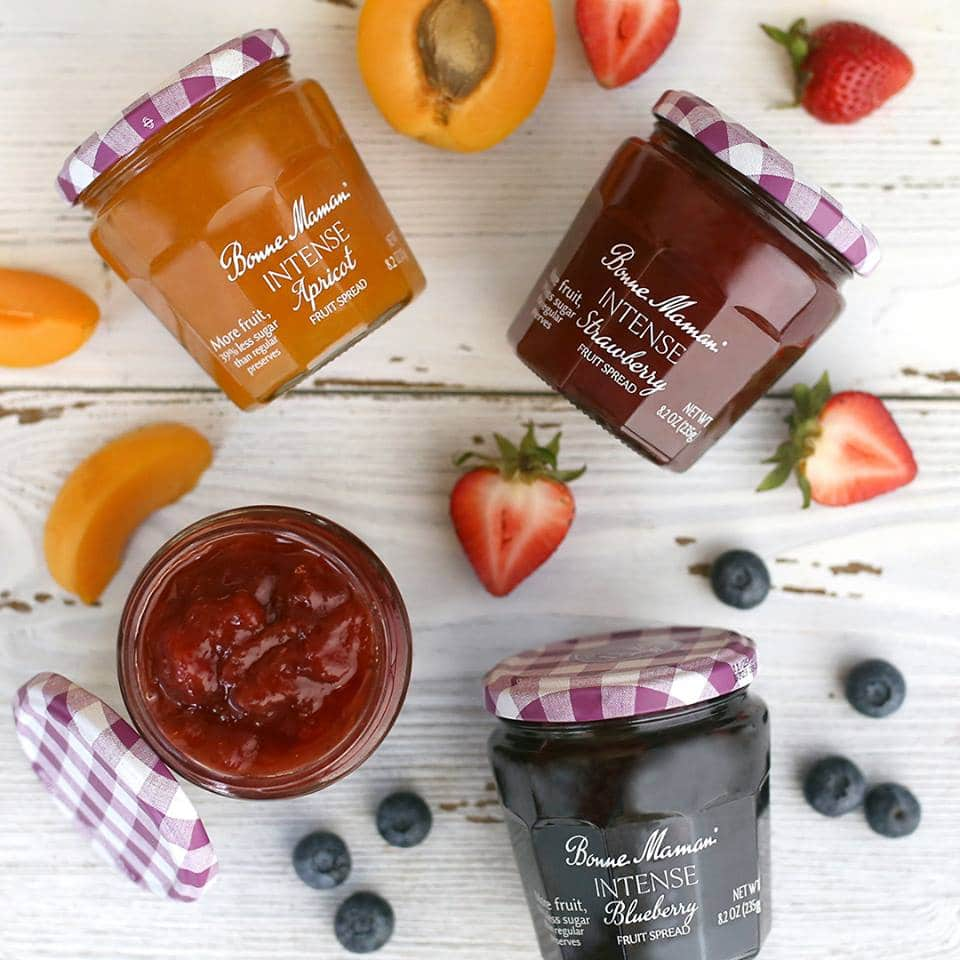 Bonne Maman Releases Intense Fruit Spreads